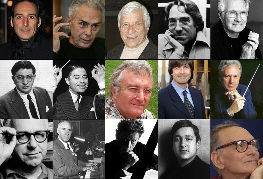 Cinelists: 100 Important Film Composers- and Their Best Films