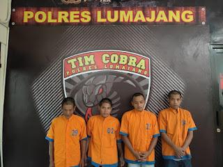 Tim Cobra  Tunjukan Taringnya  Ungkap Komplotan  Perampokan Counter HP