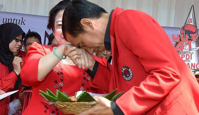 Jokowi Boneka Megawati