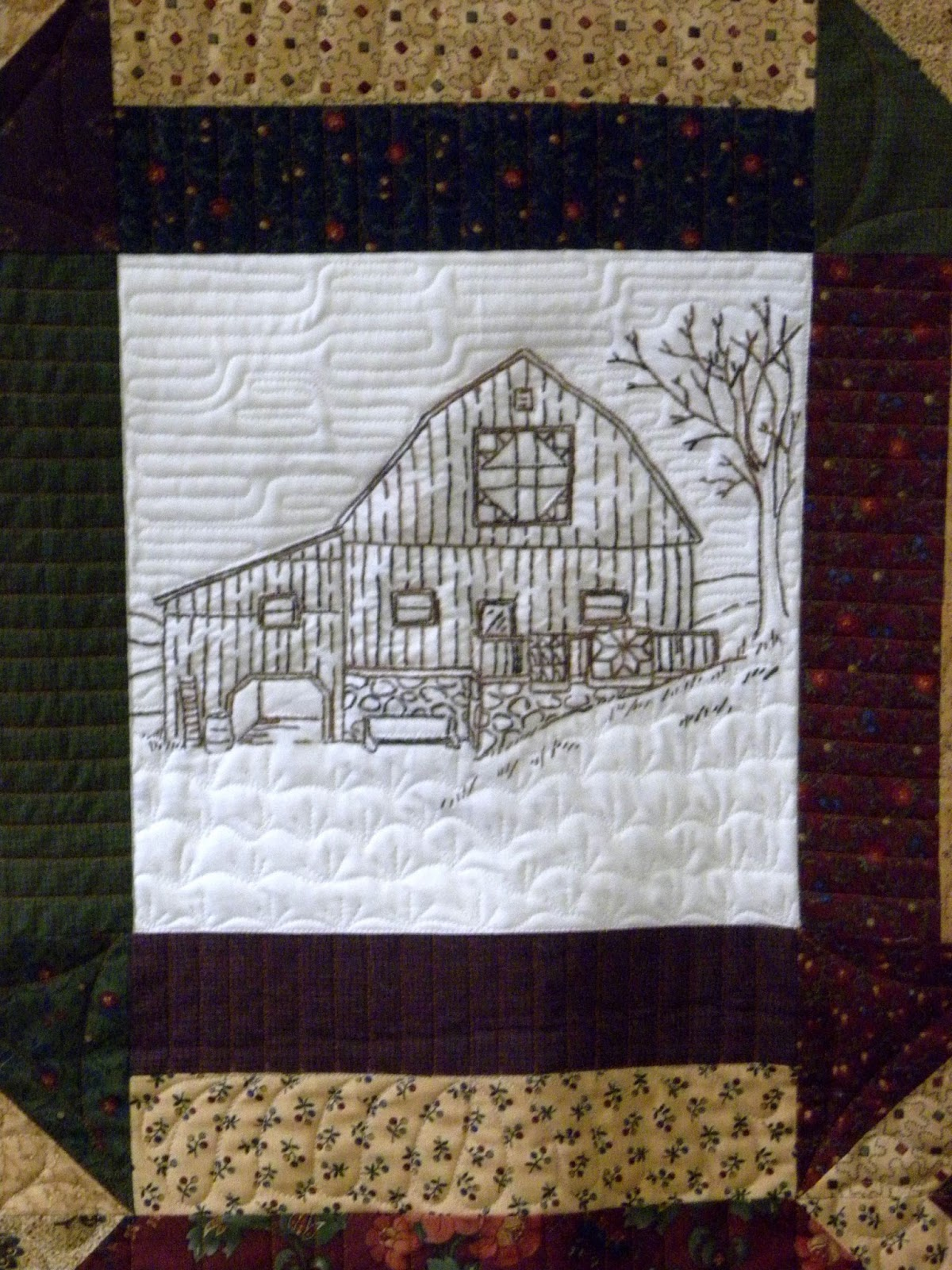 Crazy Horse Quilting Jan S Barn Quilt With Barn Quilts