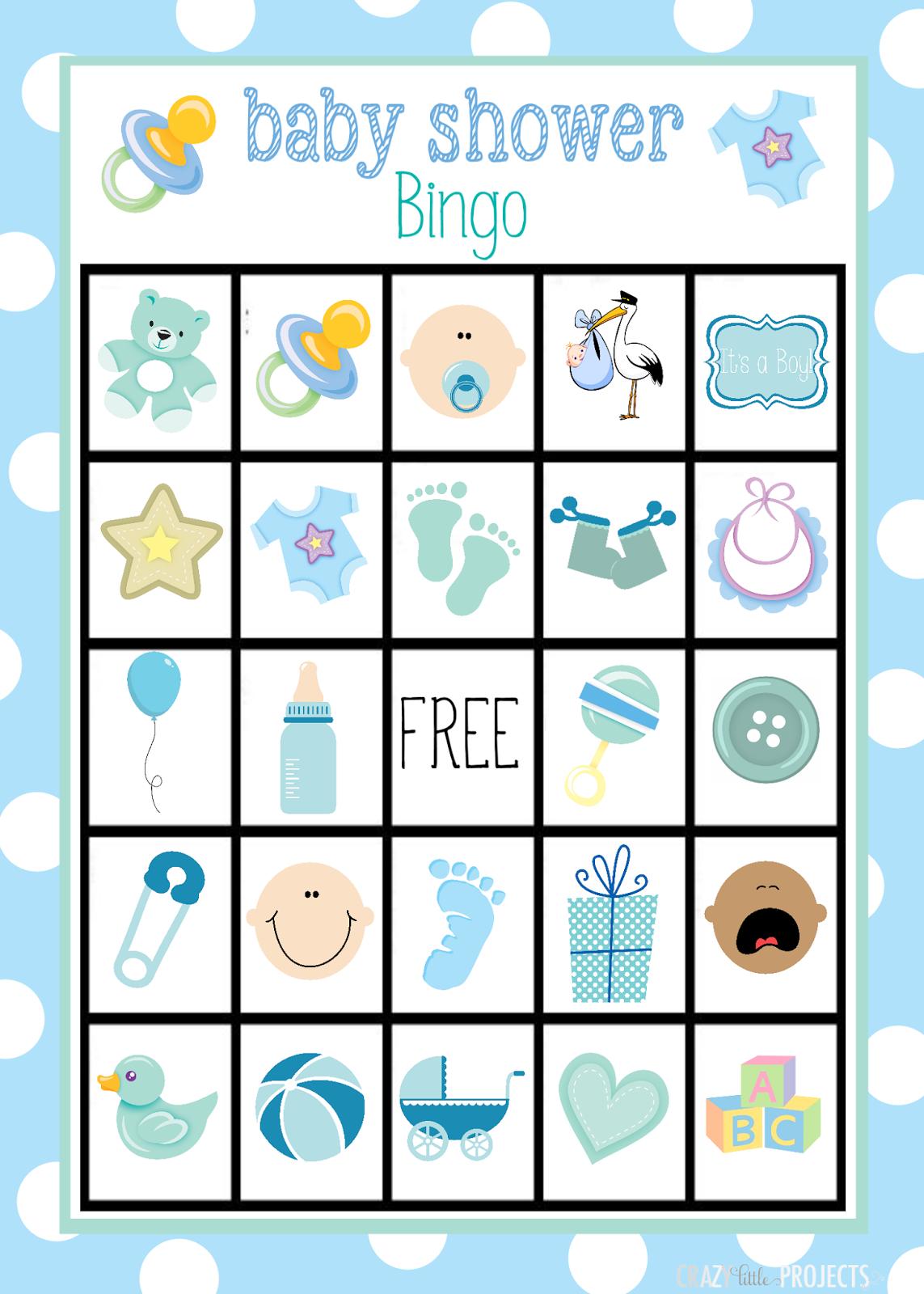 Bingo Para Baby Shower De Nino Para Imprimir Gratis Oh My Bebe