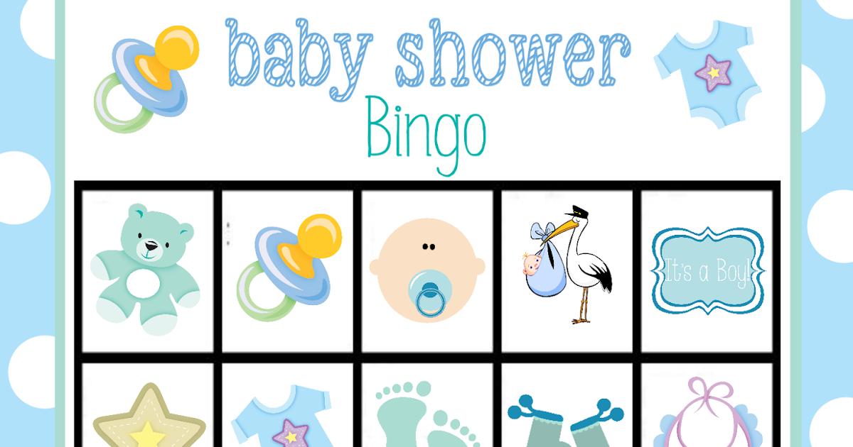 Muitas vezes Bingo para Baby Shower de Niño, para Imprimir Gratis. | Oh My Bebé! GC44