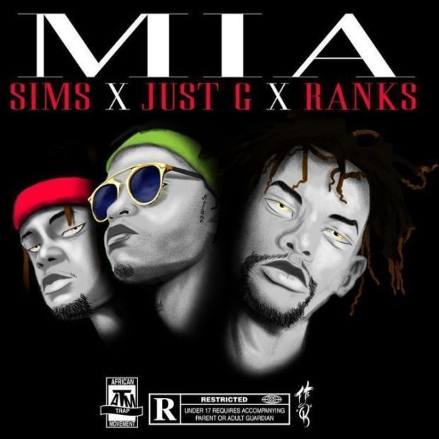Sims, Just G & Ranks – M.I.A (Audio)