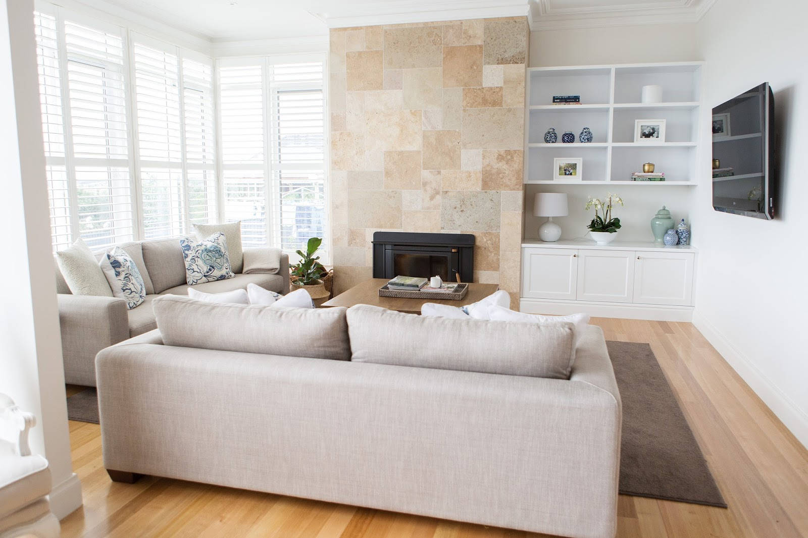 Hamptons Lounge Lounge Room Reveal Our Hampton Style Forever Home