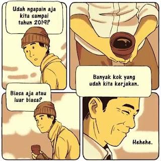 Cerita Komik kisah Jokowi ke Masa Lalu