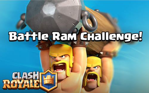 Rincian Battle Ram Challenge Event Baru Clash Royale