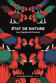 Couverture d'Etat de nature de Jean-Baptiste Froment, par Elena Vieillard