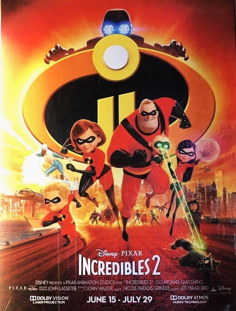 6 Movies I Want to See This Summer. summer movies 2018. incredibles 2