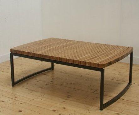 THE GREENHOUSE: BOURBON BARREL COFFEE TABLE