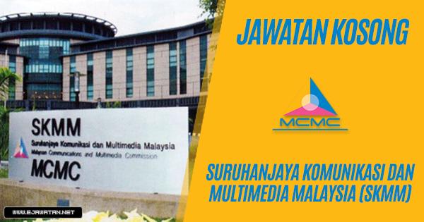 jawatan kosong Suruhanjaya Komunikasi Dan Multimedia Malaysia (SKMM) 2019