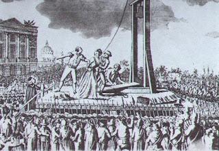 María Antonieta ejecución