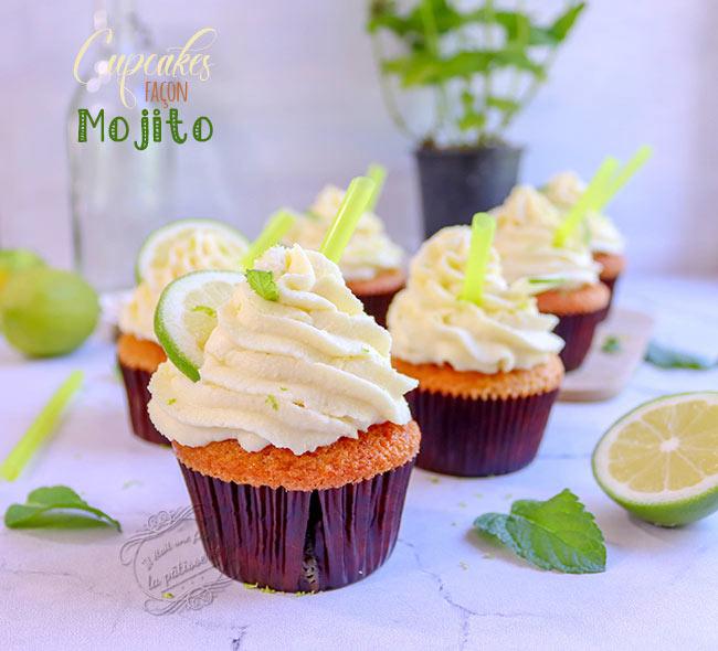 recette de cupcakes mojito