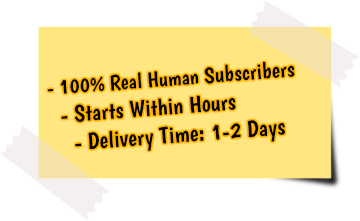 get more youtube channel subscribers service features