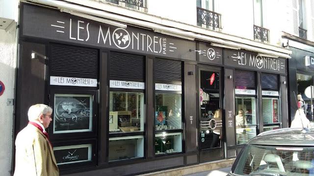 Les Montres em Paris