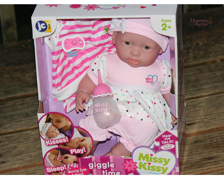 15a28efdd0f9 Giveaway Missy Kissy Giggle Time Doll from JC Toys
