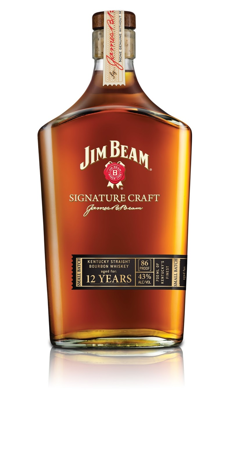 Jim Beam Signature Craft 12 Years – ein Premium Bourbon Whiskey mit Geschichte | Review
