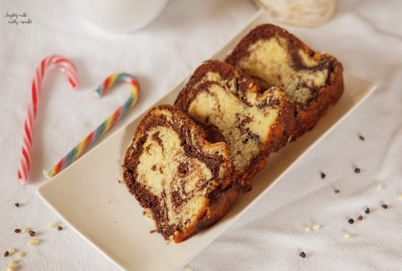 Proste i szybkie ciasto, czyli babka marmurkowa