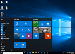 OpO ~ Pengaturan Kostumasi Start Menu Pada Windows 10