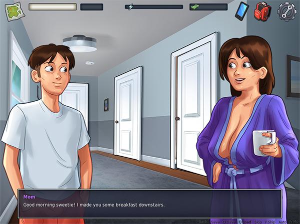 Hướng dẫn tải game và cài đặt Summertime Saga [0.18.6 - Release].