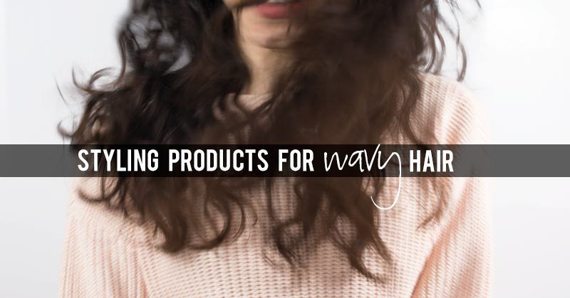 Dotted Around: Styling products for wavy hair pt 1
