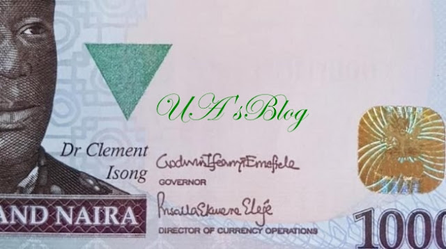 For the first time ever, a woman's signature goes on the naira