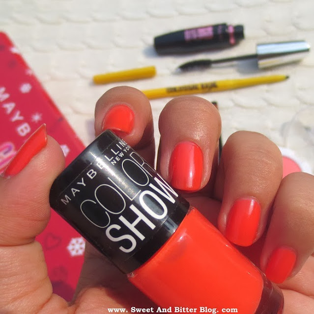 Maybelline Color Show Nail Color in Orange Fix
