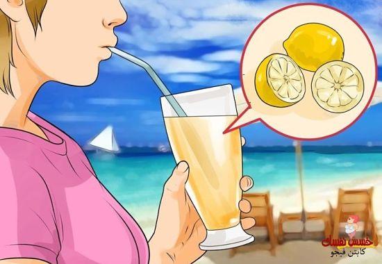 عصير الليمون والفلفل الحار للتخسيس