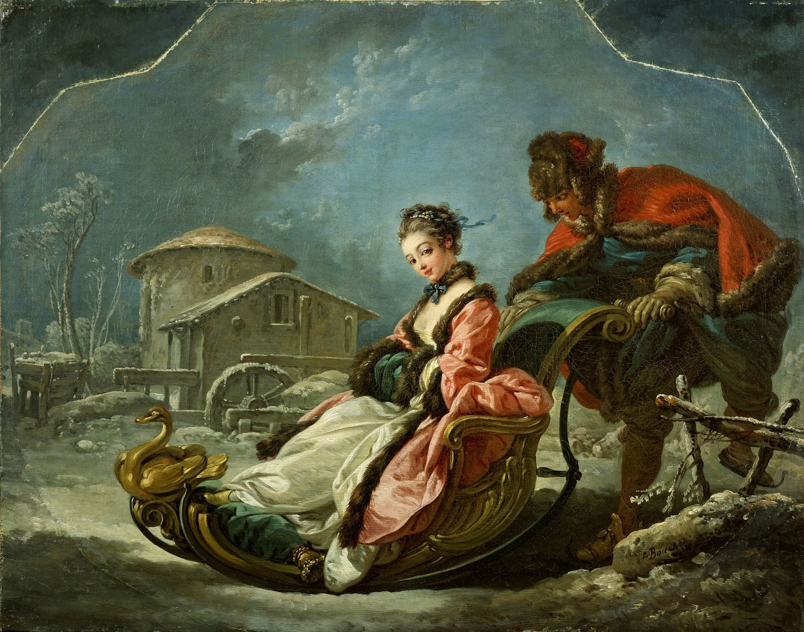 francois boucher Boucher, françois (1703-1770), french painter, noted for his pastoral and mythological scenes, whose work embodies the frivolity and sensuousness of the rococo style.
