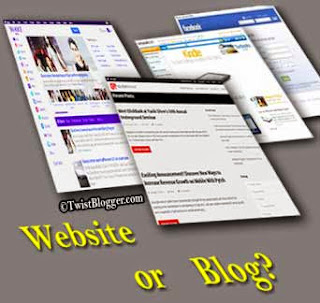What is Difference Between Blog And Website