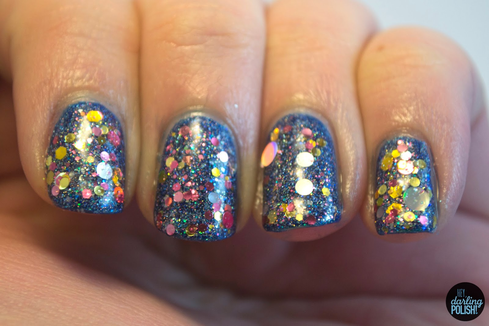 New Year\'s Eve Nails: All The Sparklies • Polish Those Nails