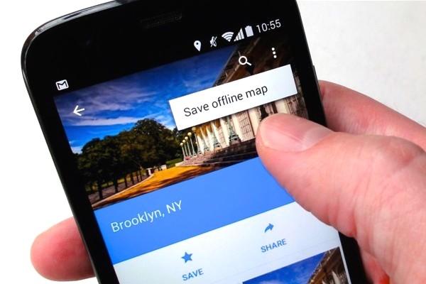 merupakan aplikasi yang dipasang secara default pada ponsel android 2 Cara Menggunakan Google Maps Secara Offline