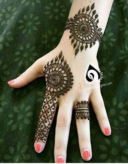 Finger Mehndi Design 2018 Simple