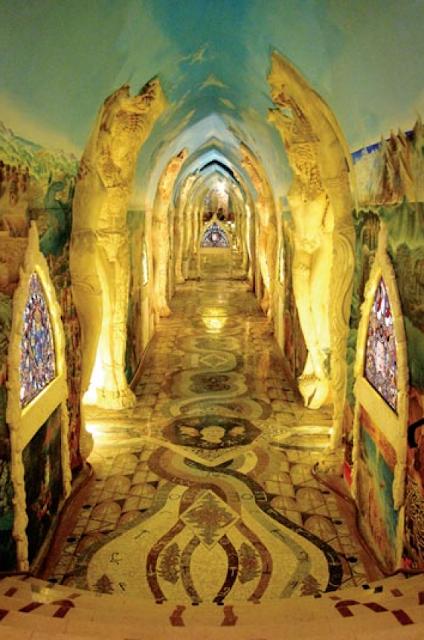 Mysterious Temples In World: COSMIC MACHINE: Secret Temple Of Damanhur// Magic Wonder