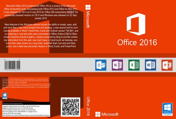 Download Microsoft Office AIO 16.0.4366.1000 Microsoft Office 2016 Front Cover 107162
