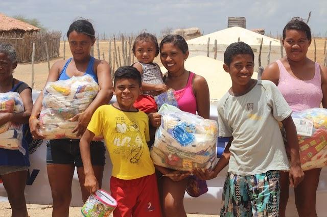 LBV mobiliza sociedade a ajudar famílias da Zona Rural do estado