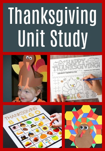Thanksgiving Unit filled with lots of thanksgiving math, thanksgiving crafts, thanksgiving language arts, and so much more for kids of all ages. Perfect thanksgiving unit kindergarten, thanksgiving unit preschool, thanksgiving unit first grade, or just a thanksgiving unit lesson plans in general.