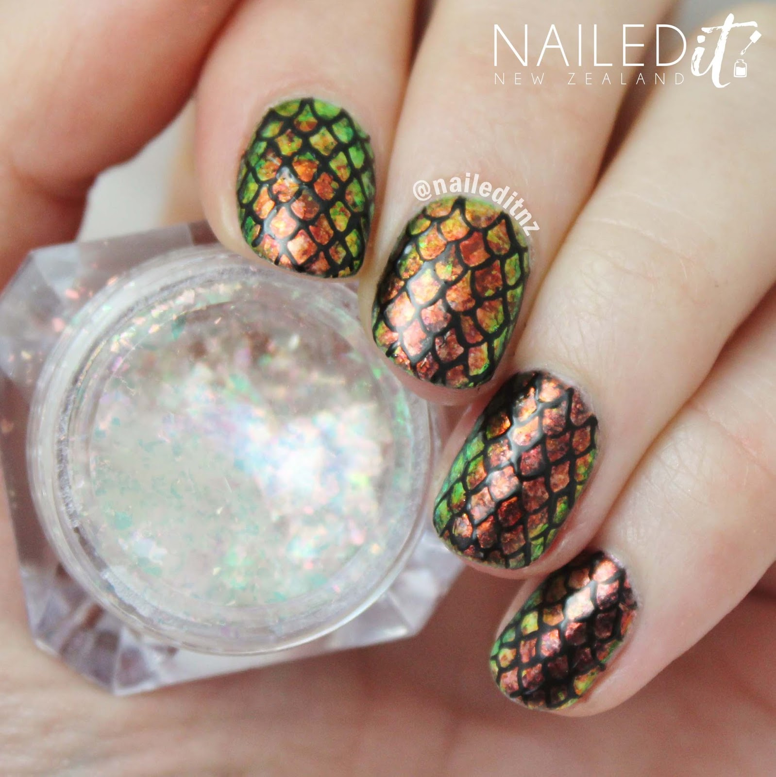 Dragon Egg Nails - Game Of Thrones Inspired! | Born Pretty Store Review