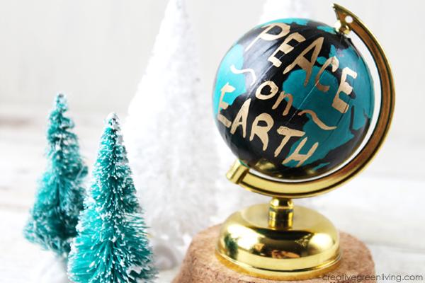 Anthropologie Wanderlust Globe Inspired Christmas Ornament