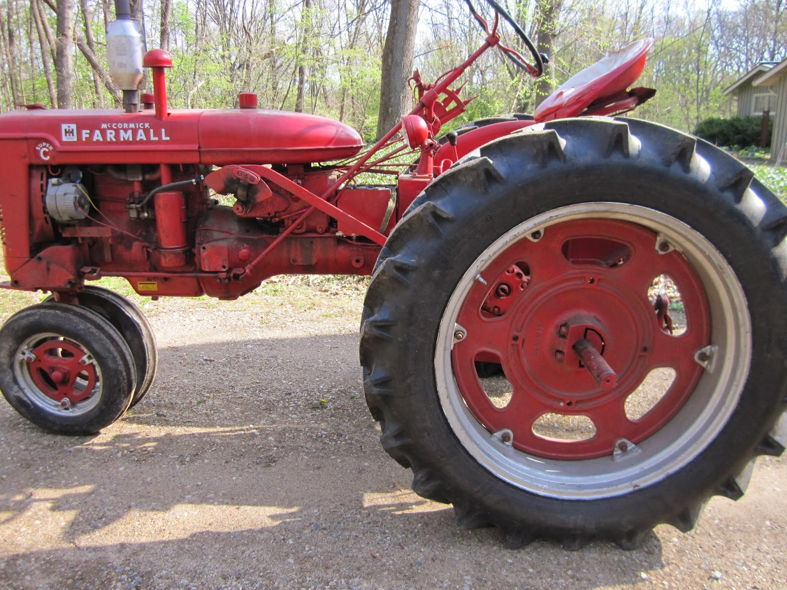 farmall super c implements - photo #44