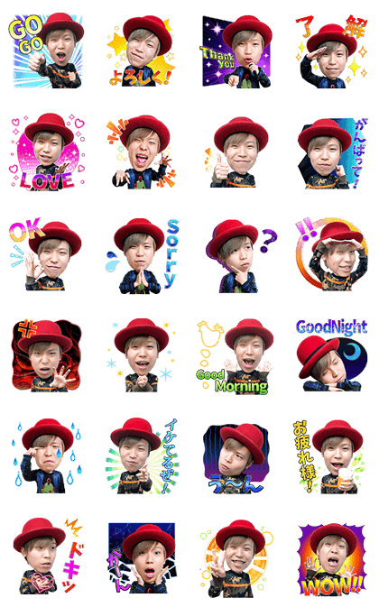Daichi Beatboxer Voice Stickers