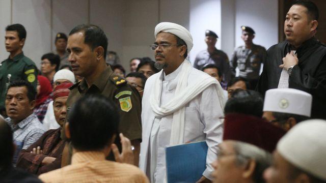 Dianggap Berpotensi Melarikan Diri, Habib Rizieq Desak Majelis Hakim Segera Penjarakan Ahok