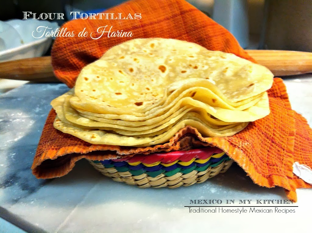 Homemade flour tortillas 10