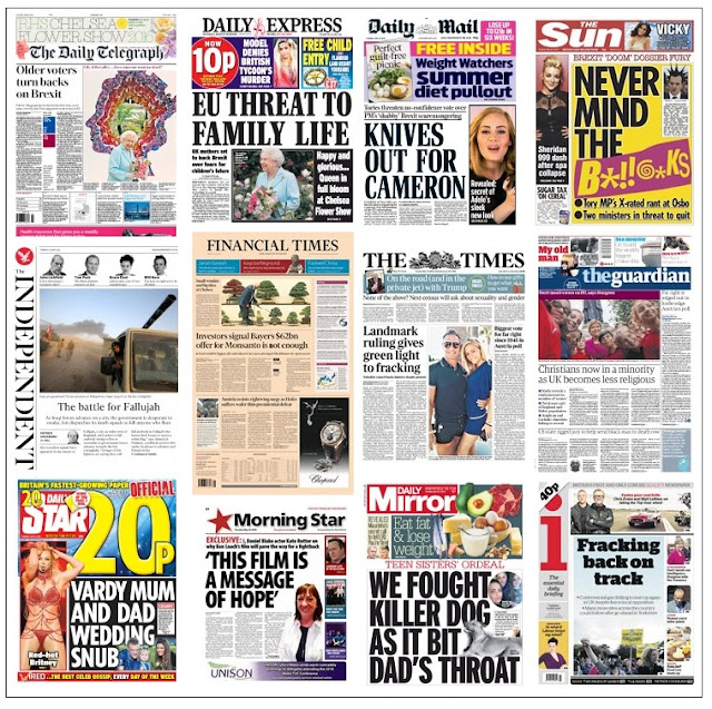 front pages 24-05-16