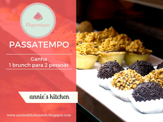 PASSATEMPO || Brunch para 2 no Piquenique