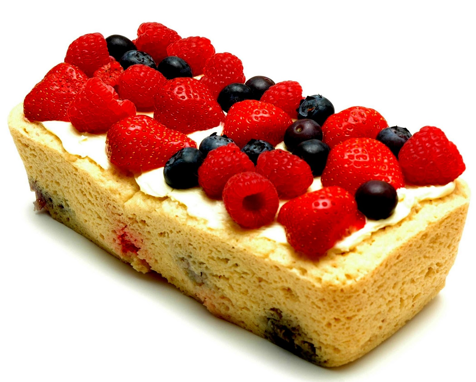 Summer Cake With Fruit