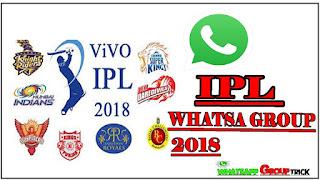 250+ IPL cricket whatsapp group link 2018