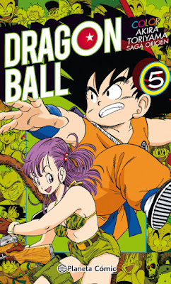 COMIC : MANGA - Dragon Ball Color Origen y Red Ribbon #05 Akira Toriyama  (Planeta - Enero 2018)  COMPRAR ESTE COMIC EN AMAZON ESPAÑA