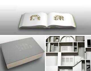 Libros reciclados para hacer arte.