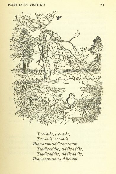 I Have A Small Collection Of Vintage Winnie The Pooh Books Love To Look Through Their Pages At Delightful Sketches