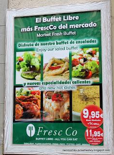 FresCo, где поесть в барселоне, шведский стол в барселоне, где поесть в барселоне недорого